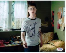 Daniel Radcliffe Harry Potter signed 8x10 photo PSA/DNA autograph