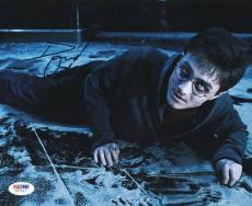Daniel Radcliffe Harry Potter Signed 8X10 Photo PSA/DNA #V67237