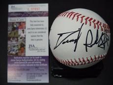 Daniel Radcliffe Harry Potter Signed Autographed Romlb Baseball Jsa Coa Rare D