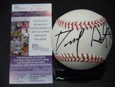 Daniel Radcliffe Harry Potter Signed Autographed Romlb Baseball Jsa Coa Rare E