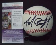 Daniel Radcliffe Harry Potter Signed Autographed Romlb Baseball Jsa Coa Rare F