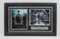 Daniel Radcliffe Harry Potter Signed Framed 8x10 Photo Collage JSA K34068