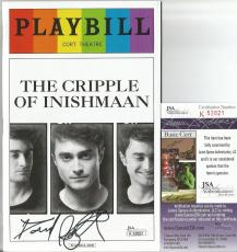 Daniel Radcliffe Harry Potter Signed Playbill The Cripple Of Inishmaan Jsa Coa B