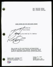 Daniel Radcliffe Harry Potter & The Half-Blood Prince Signed Script PSA #AC17061
