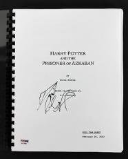 Daniel Radcliffe Harry Potter & The Prisoner of Azkaban Signed Script PSA/DNA