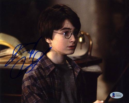 Daniel Radcliffe Harry Potter Young Autographed Signed 8x10 Photo BAS COA