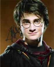 "DANIEL RADCLIFFE - Played Title Character in the ""HARRY POTTER"" Film Series - Signed 8x10 Color Photo"
