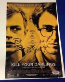 Daniel Radcliffe Plus 3 Kill Your Darlings signed 12x18 Photo PSA/DNA# Z09918