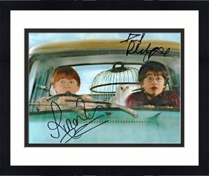 Daniel Radcliffe & Rupert Grint Harry Potter Signed Auto 8x10 Photo DG COA (A)