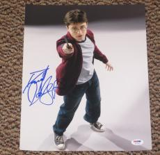 Daniel Radcliffe Signed 11x14 Photo Auto Harry Potter Proof Psa/dna V72658