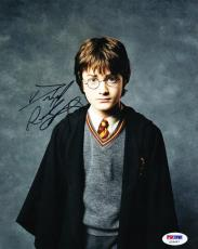 Daniel Radcliffe Signed 8x10 Photo Authentic Autograph Harry Potter Psa Coa B