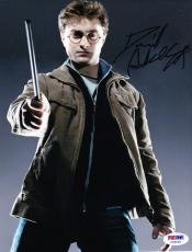 Daniel Radcliffe Signed 8x10 Photo Authentic Autograph Harry Potter Psa Coa C