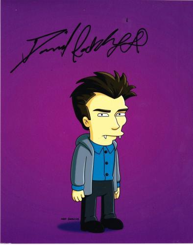 Daniel Radcliffe Signed 8x10 Photo Autograph Harry Potter The Simpsons Coa A