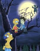 Daniel Radcliffe signed 8x10 Photo w/COA The Simpsons TV Show Harry Potter #1