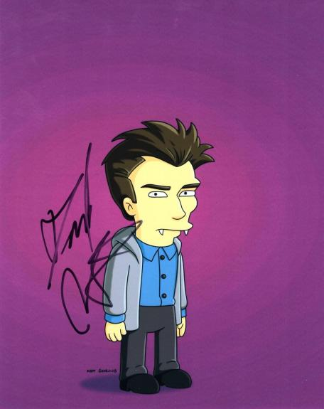 Daniel Radcliffe signed 8x10 Photo w/COA The Simpsons TV Show Harry Potter