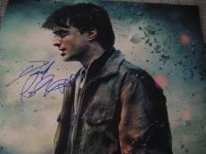Daniel Radcliffe Signed Autograph 11x14 Photo Harry Potter 7 Coa B