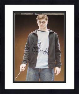 DANIEL RADCLIFFE SIGNED AUTOGRAPH 8x10 HARRY POTTER D