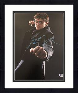 DANIEL RADCLIFFE SIGNED AUTOGRAPH CLASSIC HARRY POTTER 11x14 PHOTO BECKETT COA A