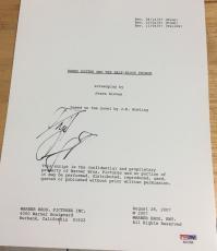 "Daniel Radcliffe Signed Autograph ""harry Potter Half Blood Prince"" Script Psadna"