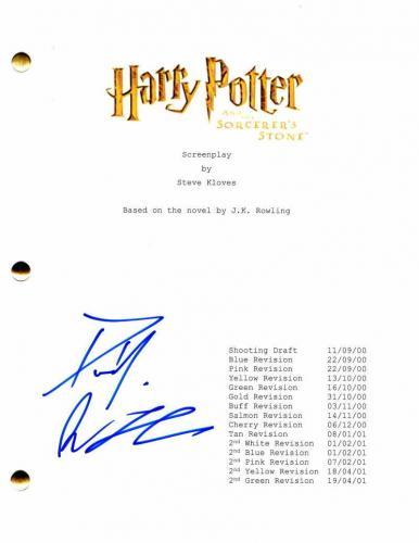 Daniel Radcliffe Signed Autograph Harry Potter Sorcer's Stone Full Movie Script