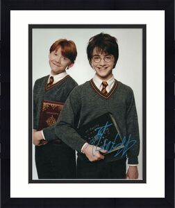 DANIEL RADCLIFFE SIGNED AUTOGRAPHED 11x14 PHOTO - HARRY POTTER, RUPERT GRINT B