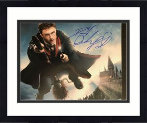 Daniel Radcliffe Signed Autographed 8x10 Photo - Harry Potter, Wand, Hogwarts