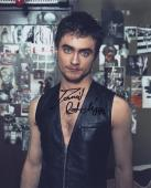 Daniel Radcliffe Signed Autographed Color 8x10 Photo Harry Potter Star Wow!!
