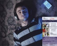 Daniel Radcliffe Signed Autographed Color Photo Jsa Coa Harry Potter Sexy!!!