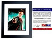 Daniel Radcliffe Signed - Autographed Harry Potter 11x14 inch Photo BLACK CUSTOM FRAME - PSA/DNA Certificate of Authenticity (COA)