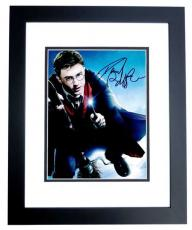 Daniel Radcliffe Signed - Autographed Harry Potter 8x10 inch Photo BLACK CUSTOM FRAME - Guaranteed to pass PSA or JSA