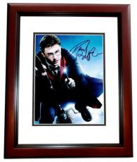 Daniel Radcliffe Signed - Autographed Harry Potter 8x10 inch Photo MAHOGANY CUSTOM FRAME - Guaranteed to pass PSA or JSA