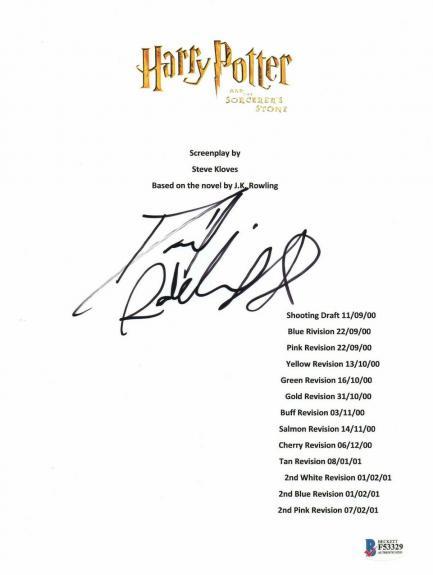 Daniel Radcliffe Signed Autographed Harry Potter Movie Script Beckett Bas Coa 11