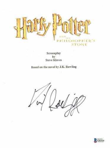Daniel Radcliffe Signed Autographed Harry Potter Movie Script Beckett Bas Coa 16