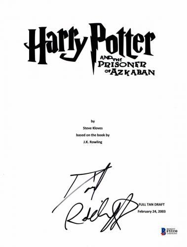 Daniel Radcliffe Signed Autographed Harry Potter Movie Script Beckett Bas Coa 4