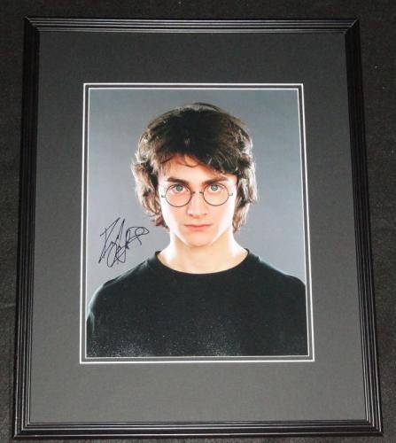 Daniel Radcliffe Signed Framed 11x14 Photo Poster JSA Harry Potter