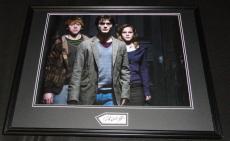 Daniel Radcliffe Signed Framed 18x24 Photo Poster Display Harry Potter
