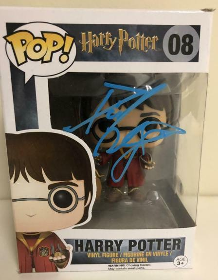Daniel Radcliffe Signed Harry Potter 08 Funko Pop Figure Autograph Beckett A