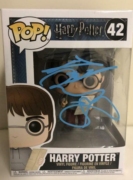 Daniel Radcliffe Signed Harry Potter 42 Funko Pop Figure Autograph Beckett