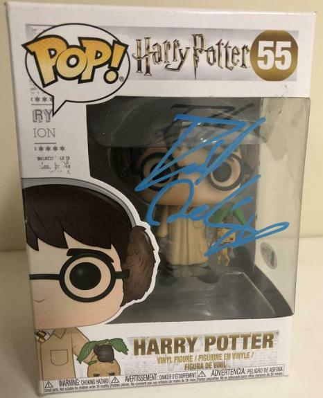 Daniel Radcliffe Signed Harry Potter 55 Funko Pop Figure Autograph Beckett A