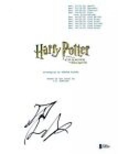 Daniel Radcliffe Signed HARRY POTTER AND THE CHAMBER OF SECRETS Script BAS COA