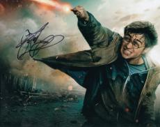 Daniel Radcliffe signed Harry Potter and the Deathly Hallows 8x10 photo w/coa