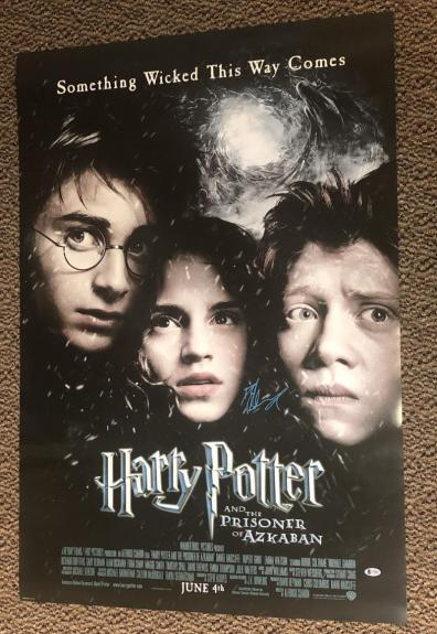 Daniel Radcliffe Signed Harry Potter And The Prisoner Of Azkaban 27x40 Poster Ds