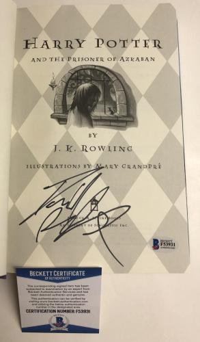 Daniel Radcliffe Signed Harry Potter And The Prisoner Of Azkaban Beckett Coa