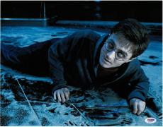 Daniel Radcliffe Signed Harry Potter Authentic 11x14 Photo PSA/DNA #AA18240