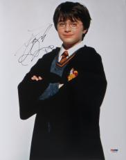 Daniel Radcliffe Signed Harry Potter Authentic 11x14 Photo PSA/DNA #U26565