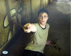 Daniel Radcliffe Signed Harry Potter Authentic Autographed 11x14 Photo (PSA/DNA)