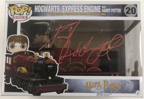 Daniel Radcliffe Signed Harry Potter Funko Pop Rides Hogwarts Express Beckett
