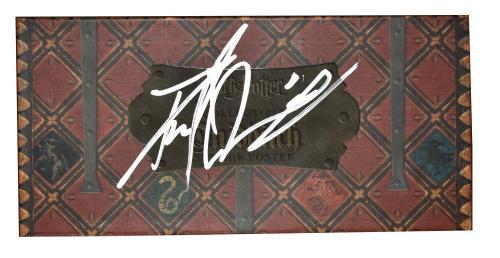 Daniel Radcliffe Signed Harry Potter Quidditch Ball Set Autograph Beckett Coa A