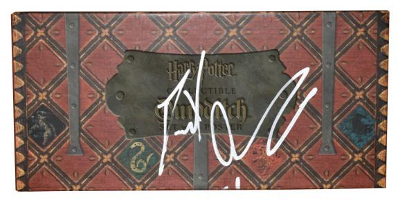 Daniel Radcliffe Signed Harry Potter Quidditch Ball Set Autograph Beckett Coa B