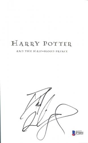 Daniel Radcliffe Signed Harry Potter & The Half-blood Prince Beckett Bas Coa